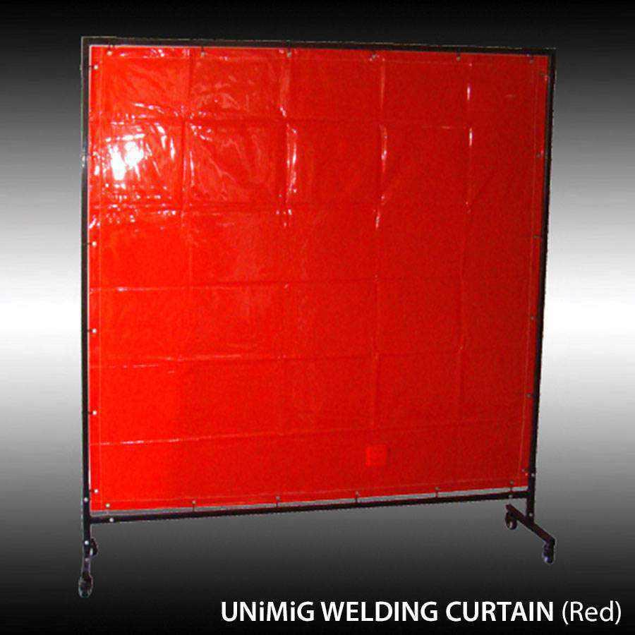 Unimig Welding Curtains Amp Frame Ease