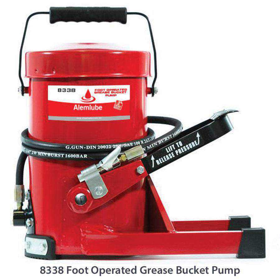 Oil Hand Pump >> Manual Grease Pumps - Ease