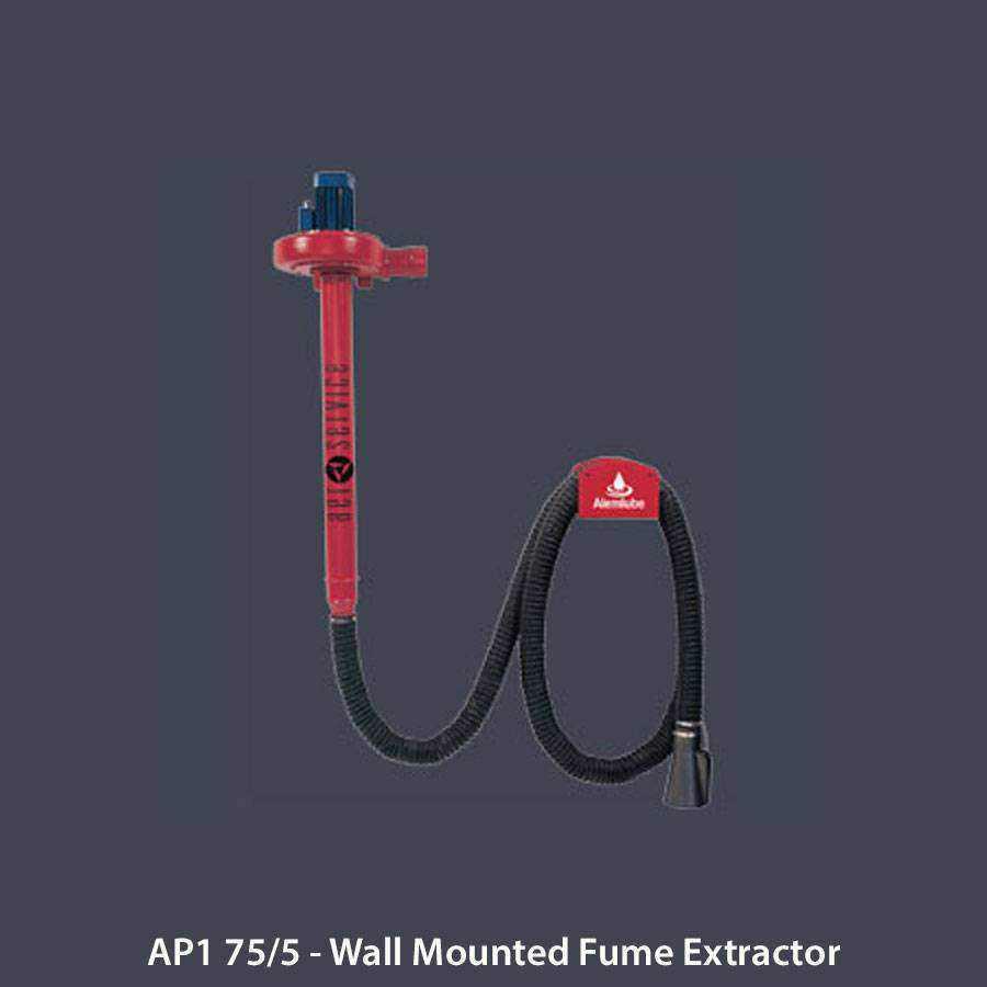 Wall Mount Welding Fume Extractor : Exhaust extraction ease