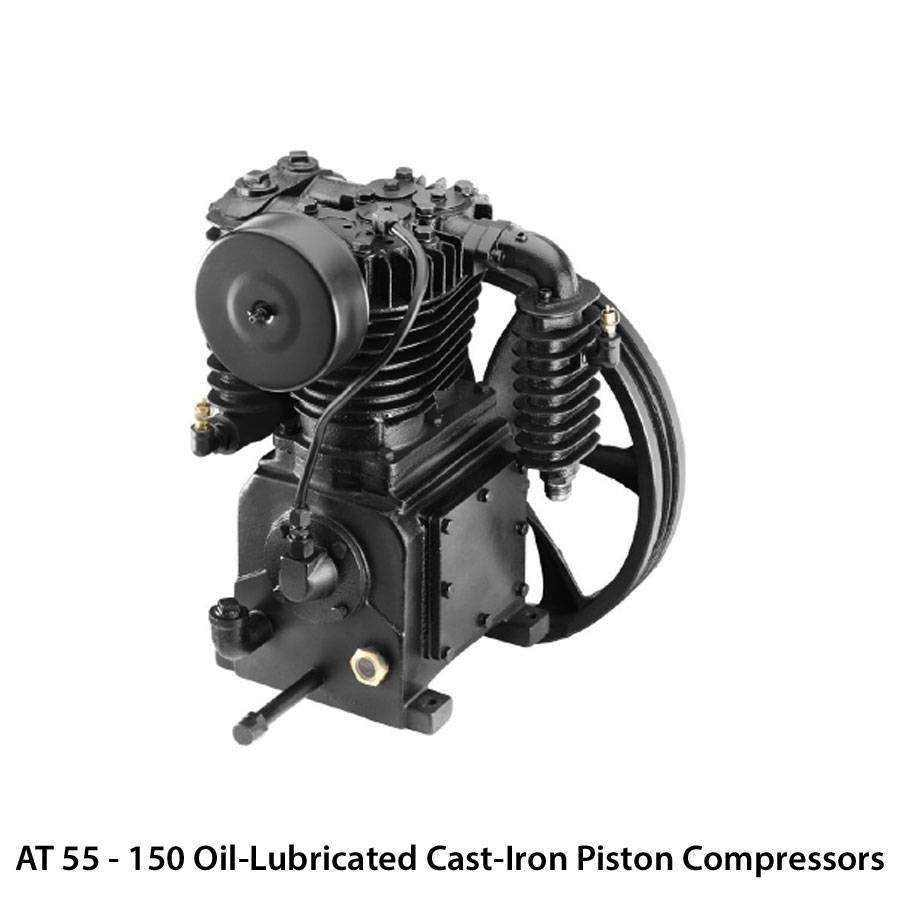 Atlas Copco Oil Lubricated Cast Iron Piston Compressors Ease