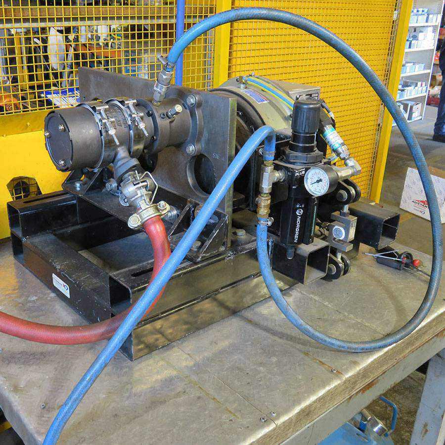 Air Starter Motor Test Bench Ease
