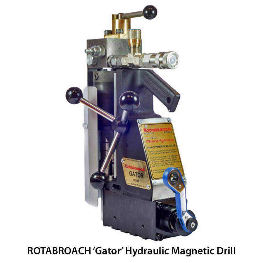 Rotabroach Hydraulic Mag Drill Ease