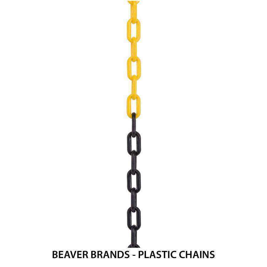 Heavy duty plastic chain guide
