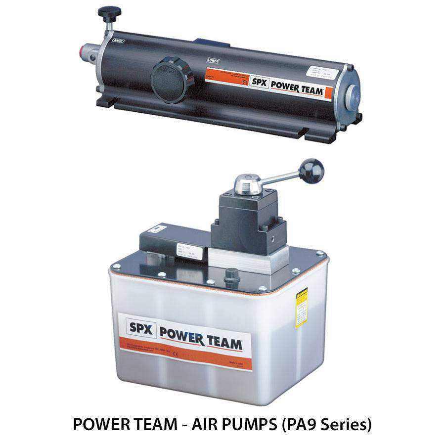 Power Team Hydraulic Pumps Ease