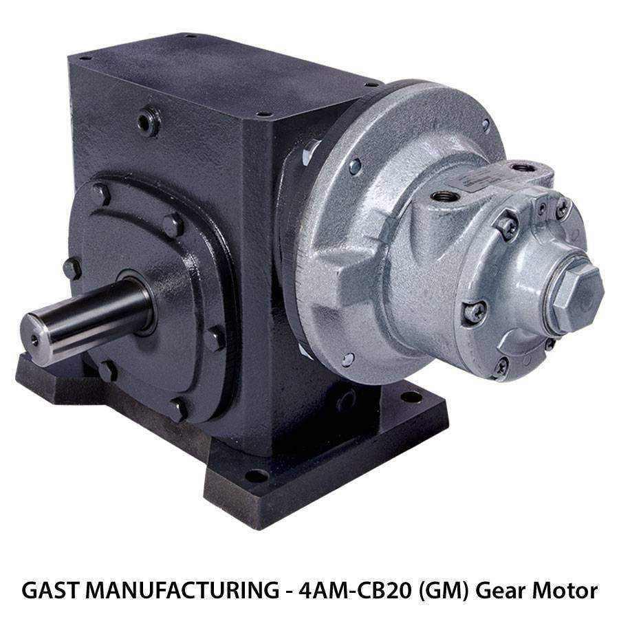 gast gear motors ease