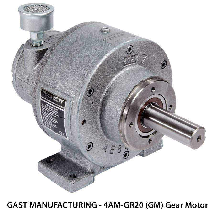 Gast Gear Motors Ease