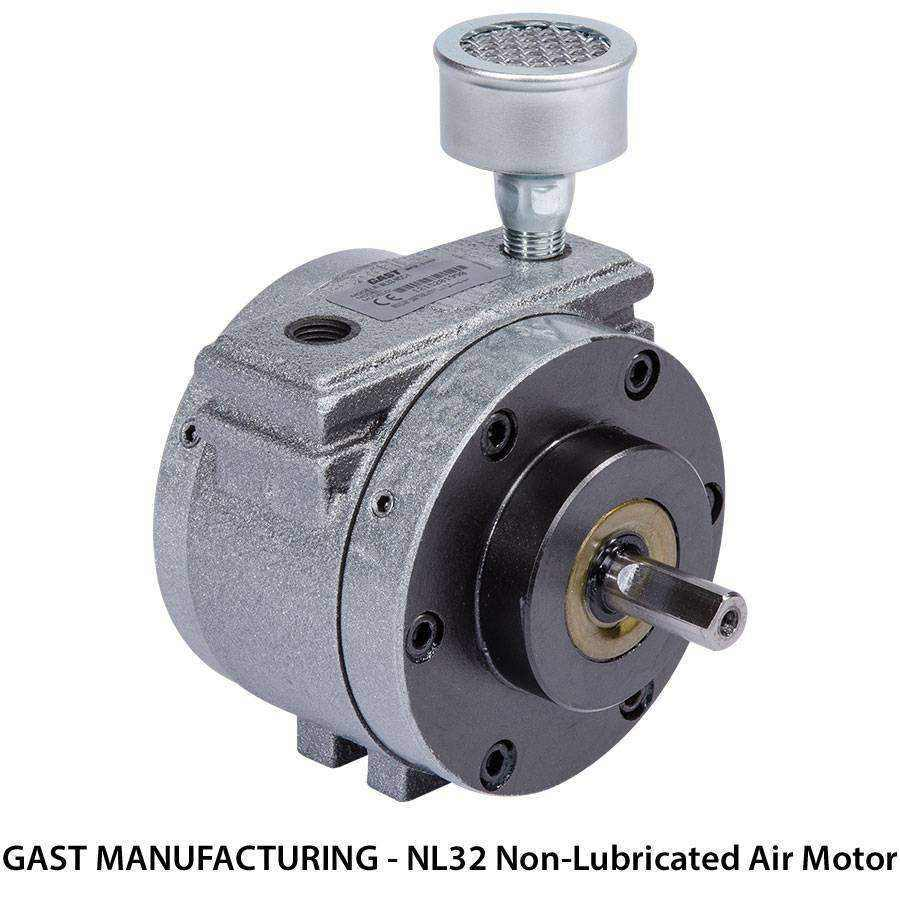 Gast Non Lubricated Air Motors Ease