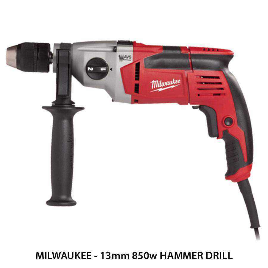 Milwaukee Hammer Drills Ease