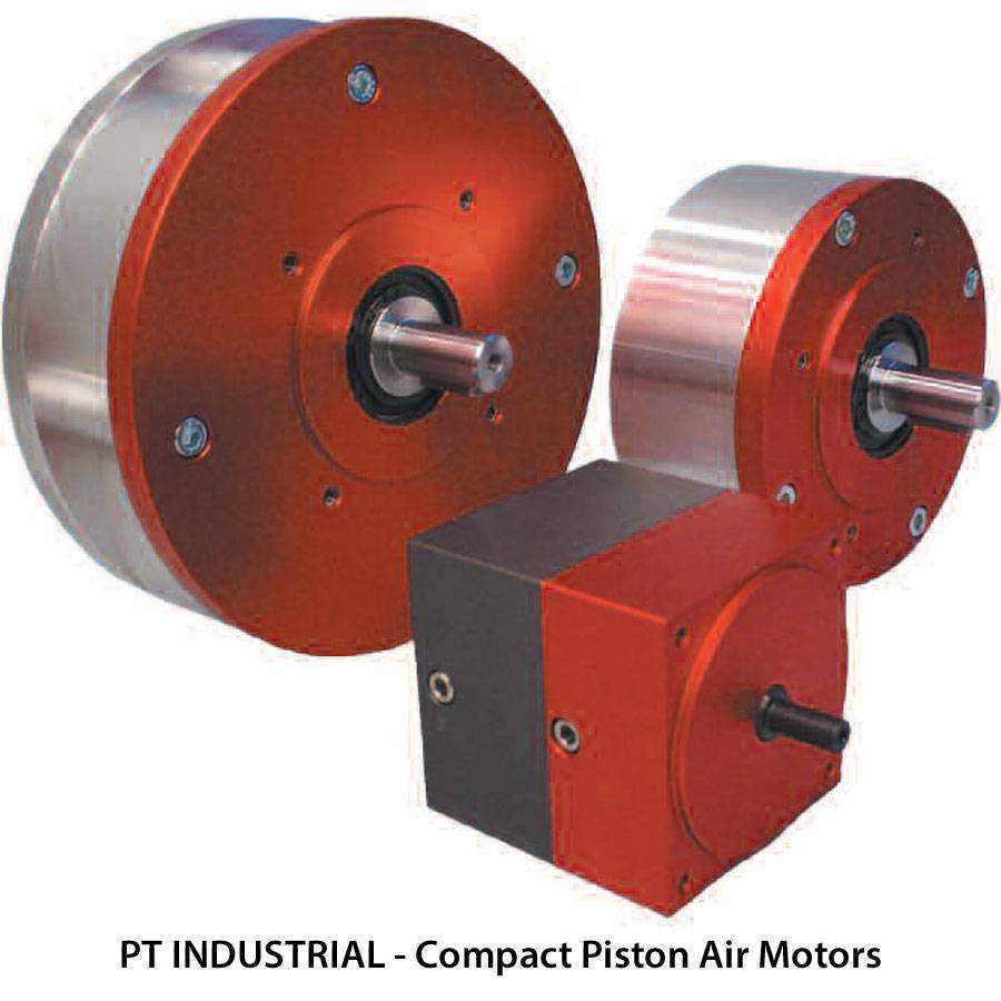 Globe Compact Piston Air Motors Ease